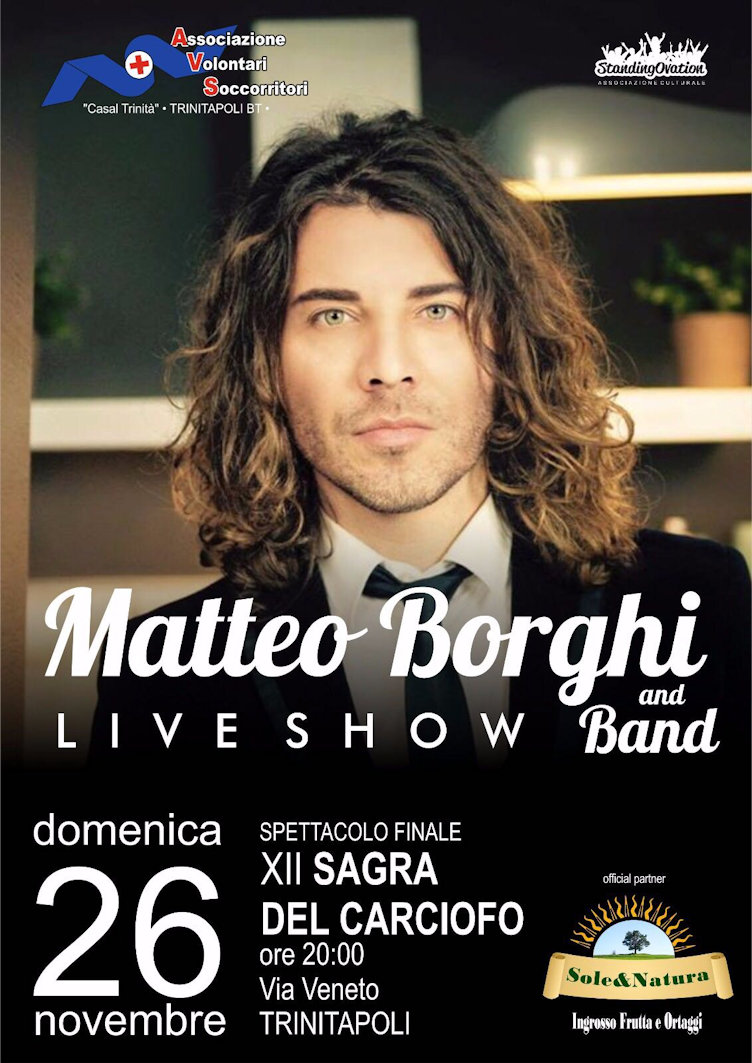 Matteo Borghi and band liveshow