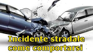 INCIDENTE STRADALE
